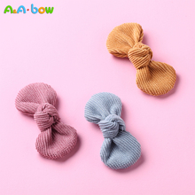 Accessories Hairpin Headband Nylon Baby Flower-Bows Girls Kids Child 1pcs Barrettes 14-Color
