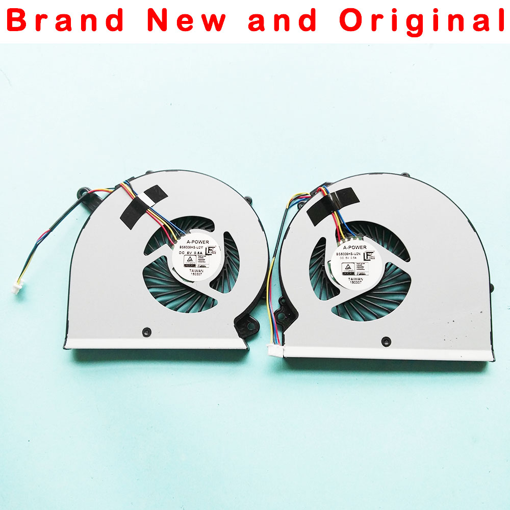 New Original Laptop Notebook CPU GPU Cooling Fan For Gigabyte Aero14 P64W Aero15 15X FAN COOLER