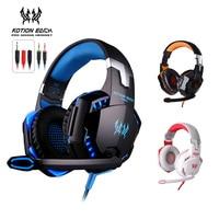 KOTION EACH G2000 G9000 B3505 G4000 Gaming Headphones W Mic LED Light Stereo Game Headsets For