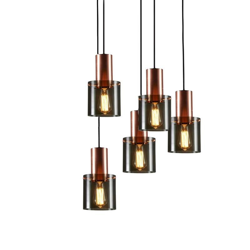 北欧 LED シャンデリアデンマークレストランライトポストモダンシンプルなシングルヘッドベッドサイドコーヒーショップランプ送料無料  グループ上の ライト & 照明 からの ペンダントライト の中 2