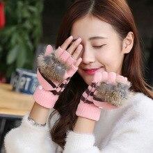 Women Gloves Stylish Hand Warmer Winter Gloves Women Arm Crochet Knitting Faux Wool Mitten Warm Fingerless Gloves,gants Femme women girl knitted arm fingerless warm winter gloves soft winter gloves hand warmer mitten knitting high quality stylish women