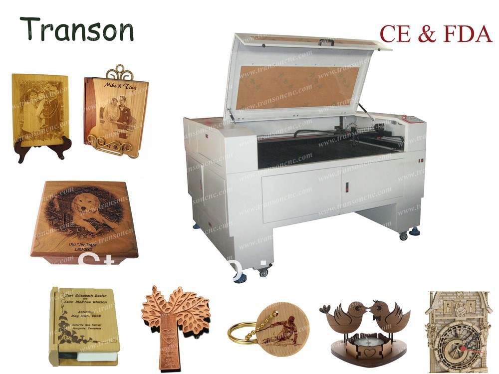 1200*900mm Co2 wood veneer laser cutting machine price on ...