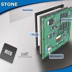 Module LCD 8.0 TFT assigner les différentes interfaces à RS232/RS485/TTL avec affichage coloré 24 bits