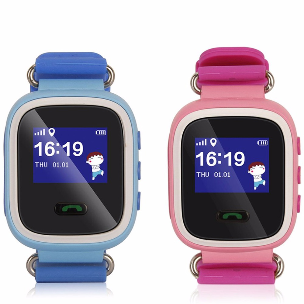 Child Cute Smartwatch Safe-keeper Sos Call Anti-lost Monitor Real Time Tracker For Children Base Station Location App Control Buy One Give One Men's Watches Watches