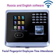 Биометрический отпечаток пальца лица посещаемость сотрудников UF100PlusLow стоимость распознавания лица система лица работник время часы