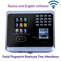 Biometrische Gesichts Fingerprint Mitarbeiter Zeit Teilnahme UF100PlusLow Kosten Gesicht Anerkennung System Gesicht Mitarbeiter Uhr-in Elektrische Teilnahme aus Sicherheit und Schutz bei
