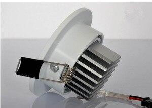Image 2 - Dimmable LED Downlight 5W 7W 9W Spot LED DownLights Dimmable cob LED Spot Recessed down lights for living room 110v 220v