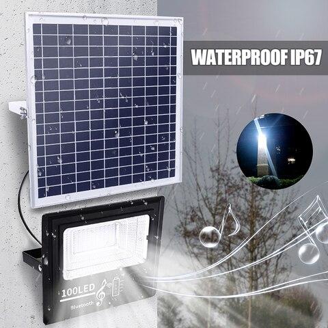 lampada ao ar livre 50 100 192 300 led energia solar 50 w 100 w