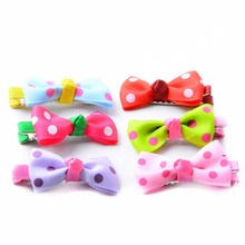 Pet Puppy Dog Cat Hairpin Hair Bows Clips Random Color Accessories for Small Dogs