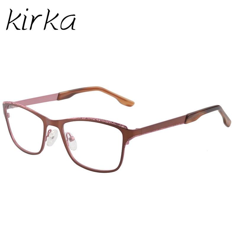 Kirka gafas piernas diseño único marco de las lentes, moda borde ...