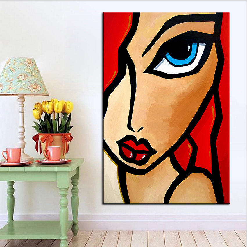 Large size Printing Oil Painting salsa Wall painting POP Art Wall Art Picture For Living Room painting No Frame