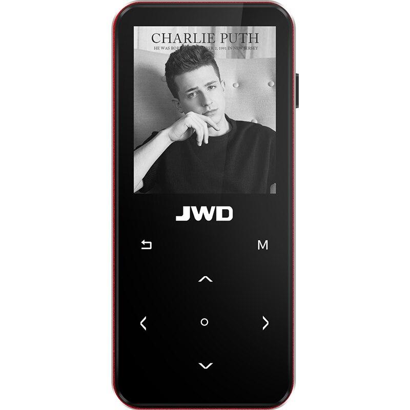 JWD 1.8 pouces HIFI lecteurs MP3 8 GB EBook lecture écran tactile FM Radio enregistrement vidéo Bluetooth V4.0