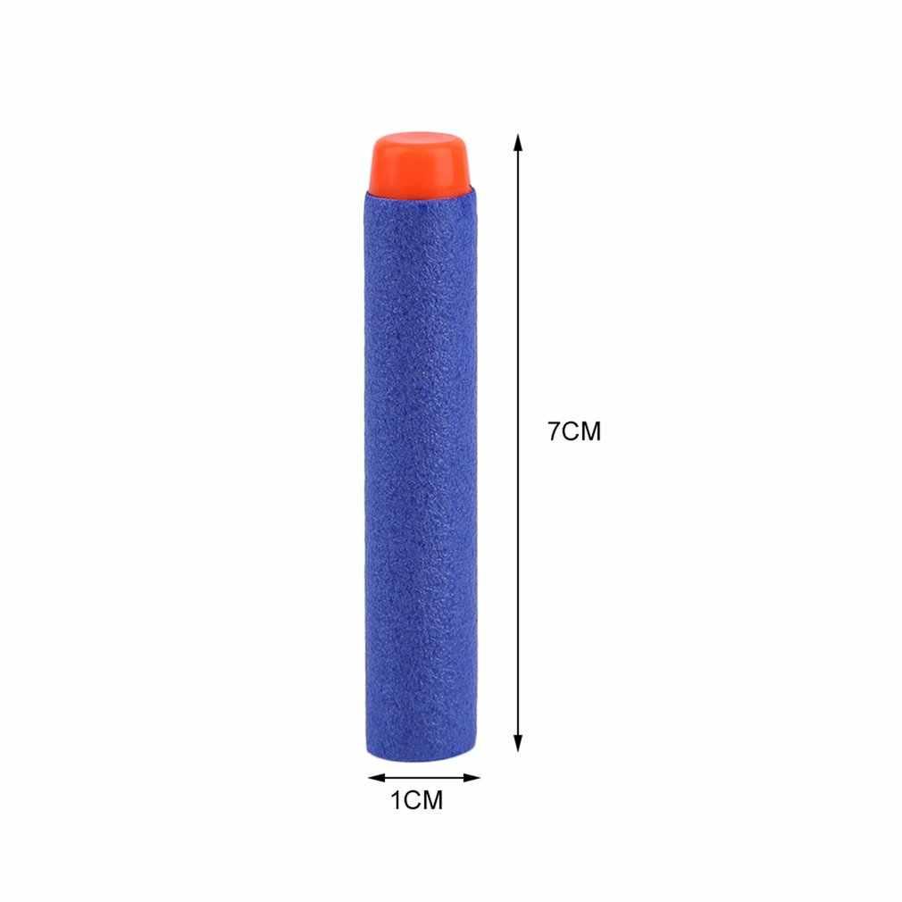 50/100 шт легкий мягкий пистолет Воздушный пистолет пули Дартс снаряд из ЭВА Дартс для NERF N-Strike комплект бластеров ребенок для Игрушечного Пистолета