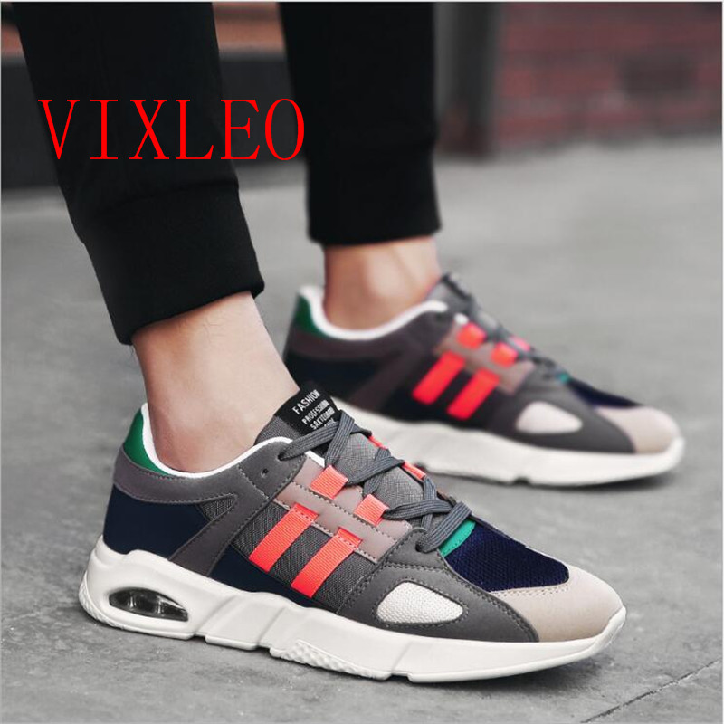 2018 Casual Shoes Male Shoes Adult walk Tenis Feminino Men Krasovki Ultra-light Luxury Brand Air mesh Colorful Size 36-44