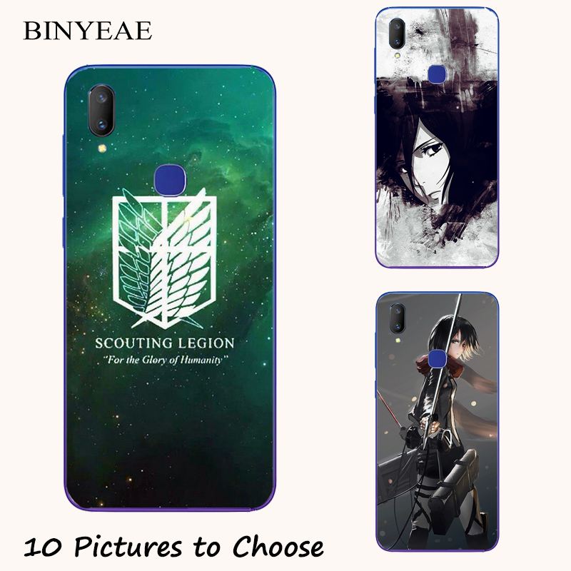 Attack on Titan Painting <font><b>Case</b></font> For <font><b>Vivo</b></font> V9 Youth V11i V11 V17 S1 <font><b>Z1</b></font> <font><b>Pro</b></font> Neo Y91 Y91i Y93 Y93s Y95 Lite Y85 Y91c Phone Print Cover image
