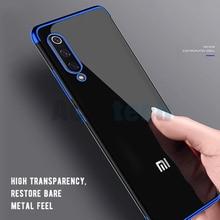 Soft Plating TPU Cases For Xiaomi Mi9 SE 8 Lite Ultra Thin Cover Coque Redmi Note 7 6 5 Pro Transparent Case Back