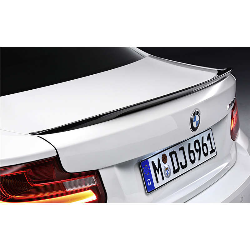 F22 2Door Modified Performance Style FRP Fiberglass Rear Trunk Lip Spoiler Car Wing for BMW F22 218i 220i 225d 228i 2014~2016 carbon fiber car rear bumper extension lip spoiler diffuser for bmw x6 e71 e72 2008 2014 xdrive 35i 50i black frp