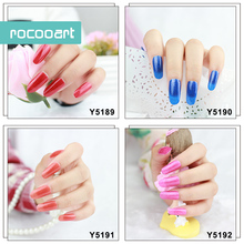 11 Different Colors Self-Adhesive Nail Art Stickers Decor Full Nail Foil Wraps Decal Fingernails Sticker Pure Pink Purple Blue