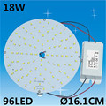 Circular 18W SMD2835 Brightness 96LED Light Board Led Lamp Panel For Ceiling PCB With LED Replace 2D tube Cool white/Warm white