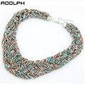 Jóias star fashion bohemia 5 cores temperamento doces beads colar apelativo para a mulher 2015 nova pingentes choker colares 35