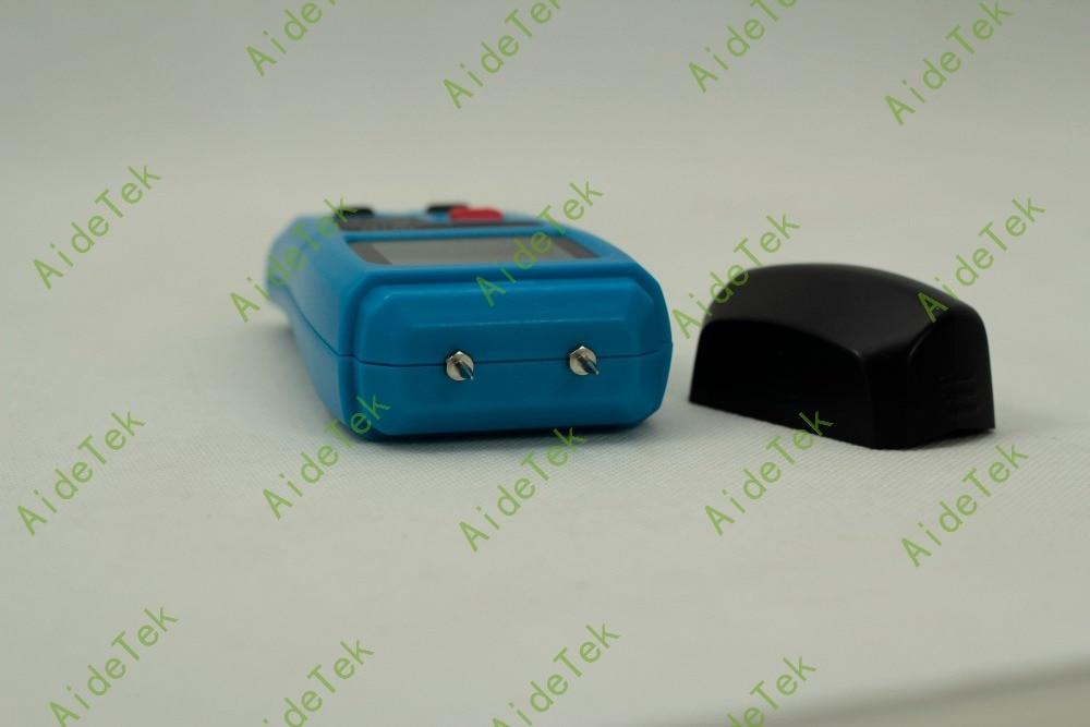 EMT01 Wood paper cardboard Moisture Meter 0~99.9% LCD 2 pins auto power data hol