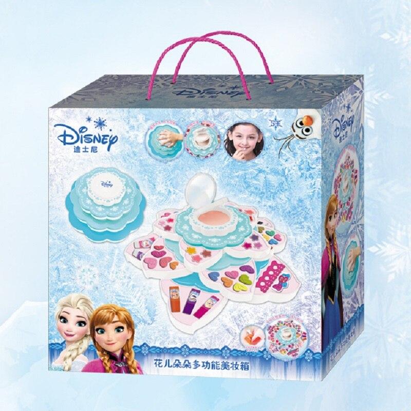 Моделирование туалетный столик макияж коробка игрушка косметический набор для девочек тени для век лак для ногтей бальзам для губ водораст... - 5