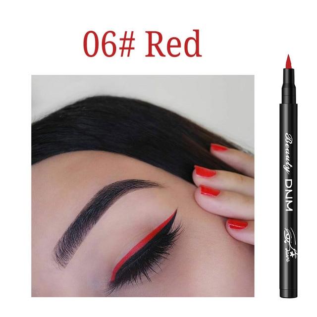 12 Colors Eyeliner Pencil Long Lasting Waterproof Eyes Makeup Pen Liquid Eye Liner Smoothly Pencil Black Make Up Tools Eyeliner 4