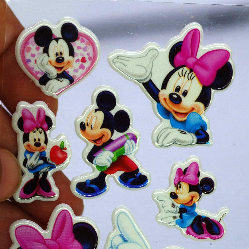 Saco mouse Lindo Adesivo dimensional 1 3D PVC dos desenhos animados adesivos bolha meninas/meninos crianças brinquedos de presente de aniversário bonito aleatória