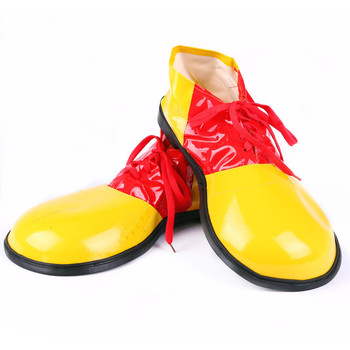 Funny Artificial Leather Clown Shoes Adults Cosplay Clown Shoes Costume Props Halloween Party Dress Up Decoration 2