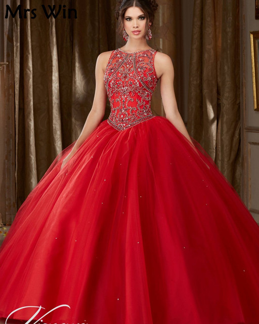 96cd92c9bc89 Debutante Gowns Plus Size Cheap Puffy Cinderella Quinceanera Dresses Red  Quinceanera Dresses 2019 Sweet 16 Ball