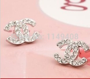 free shipping 2015 new fashion earrings for women famous brand jewelry stud earrings cute small. Black Bedroom Furniture Sets. Home Design Ideas