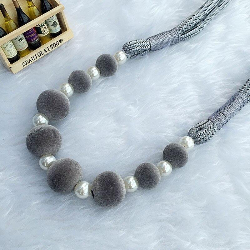 Vorhang Halter Tieback Handgewebte Lanyard Strap Perlen Quaste Raffhalter  Vorhang Zubehör Für Moderne Wohnzimmer CP064 #30