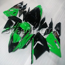 23 cores! presentes + ABS carenagem aftermarket carroçaria PRETO VERDE capa para Kawasaki Ninja ZX10R 2004 2005 ZX-10R carenagem da motocicleta