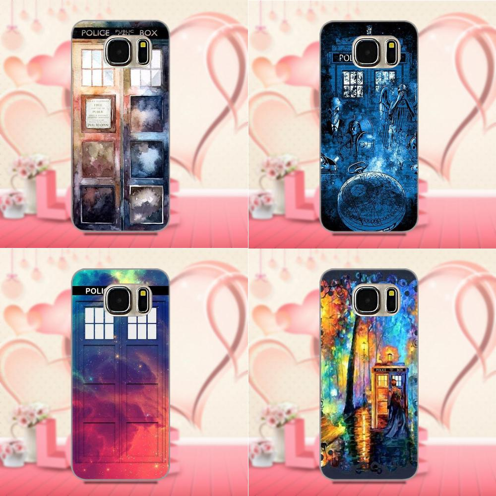Art Tardis Doctor Who In For Xiaomi Redmi 5 4A 3 3S Pro Mi4 Mi4i Mi5 Mi5S Mi Max Mix 2 Note 3 4 Plus Soft TPU Protective Case