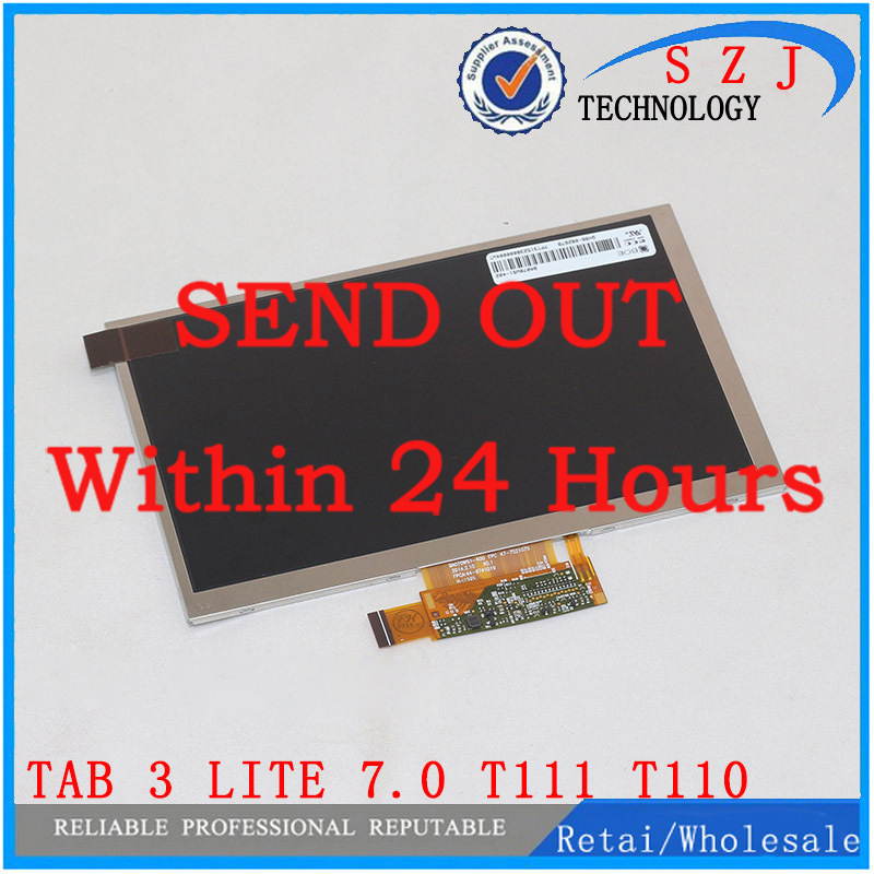 цены New 7'' inch for Samsung Galaxy Tab 3 Lite 7.0 T111 T110 LCD Screen Display For LENOVO ideapad A1000 A3300 P9 Free shipping