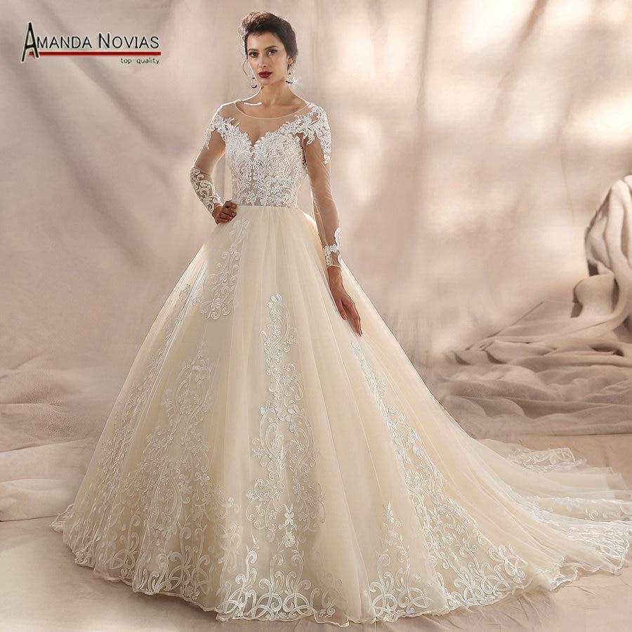 Aliexpress.com : Buy Stunning Sexy Lace Wedding Dress 2018