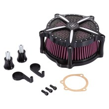 Modified Air Cleaner Intake Filter For Harley Softail Dyna Glide Rocker 04-07 Motorcycle Parts