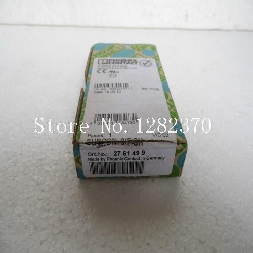 [SA] New original special sales PHCENIX CONTACT connector SUBCON 9 / F-SH Spot --2pcs/lot [sa] new japan genuine original sunx sensor sh 32r spot 2pcs lot