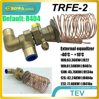 18TR thermostatic expansion valve utilize evaporator fully and ensure no liquid refrigerant may reach the compressor in coolings
