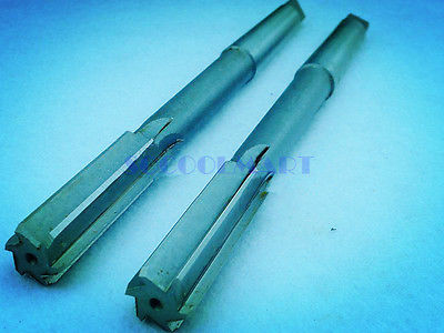 цены 1pcs HSS H7 Machinery Taper Shank Straight Flute Chucking Reamers 45mm