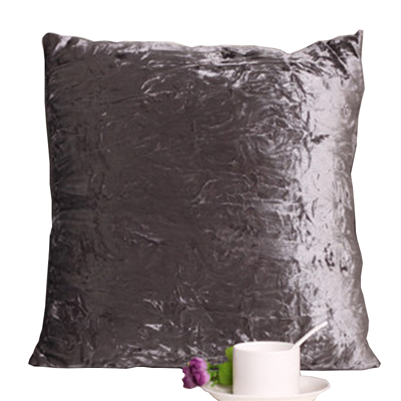 Square House De Coussin Decoration Canape Velvet Seat Cushion Silk Like  Pillow Skin Decorative Throw Pillows For Sofa In Cushion From Home U0026 Garden  On ...