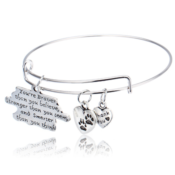 You Are Braver Than You Believe Stronger Than You Seem Smarter Than You Think Fashion Bracelets Friendship image