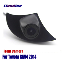 Liandlee AUTO CAM For Toyota RAV4 2014 Front View Camera Logo Embedded ( Not Reverse Rear Parking Camera )