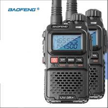 2pcs Baofeng UV 3R plus walkie talkie Dual Band Two Way Radio HF Transceiver uv 3r Handy Ham Radio For Hunting Pofung UV3R+