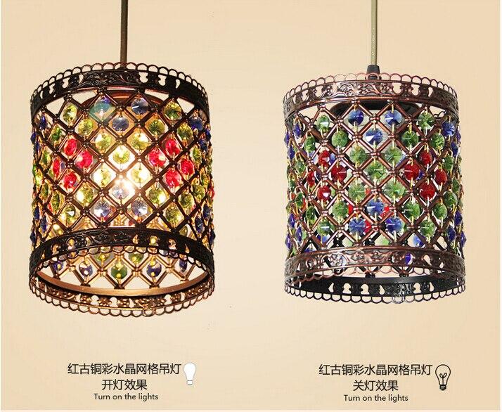 Plafoniere Cristallo Boemia : D150mm pendente di cristallo lampade illuminazione 1 testa della