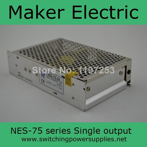 low price 75w led driver NES-75-48 1.6A switch power supply image