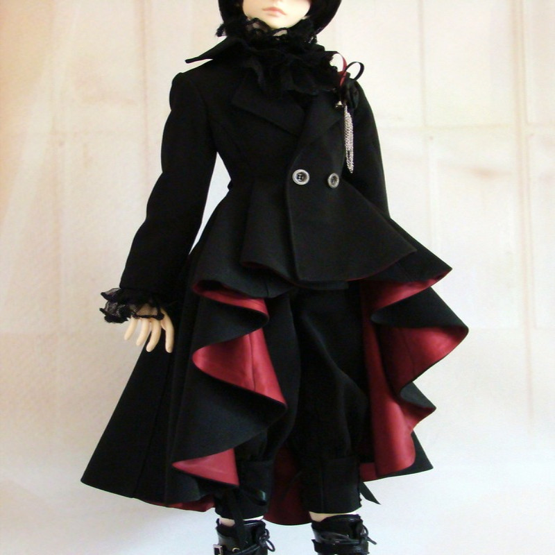 SD BJD doll clothes doll clothes windbreaker jacket Men's Fancy Fashion 1209