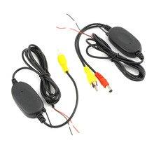 Adaptador de Módulo inalámbrico 2.4G Receptor Para El Monitor Del Coche Back Up Inversa de Visión Trasera Cámara Inalámbrica Transmisor Receptor Kit Aparcamiento
