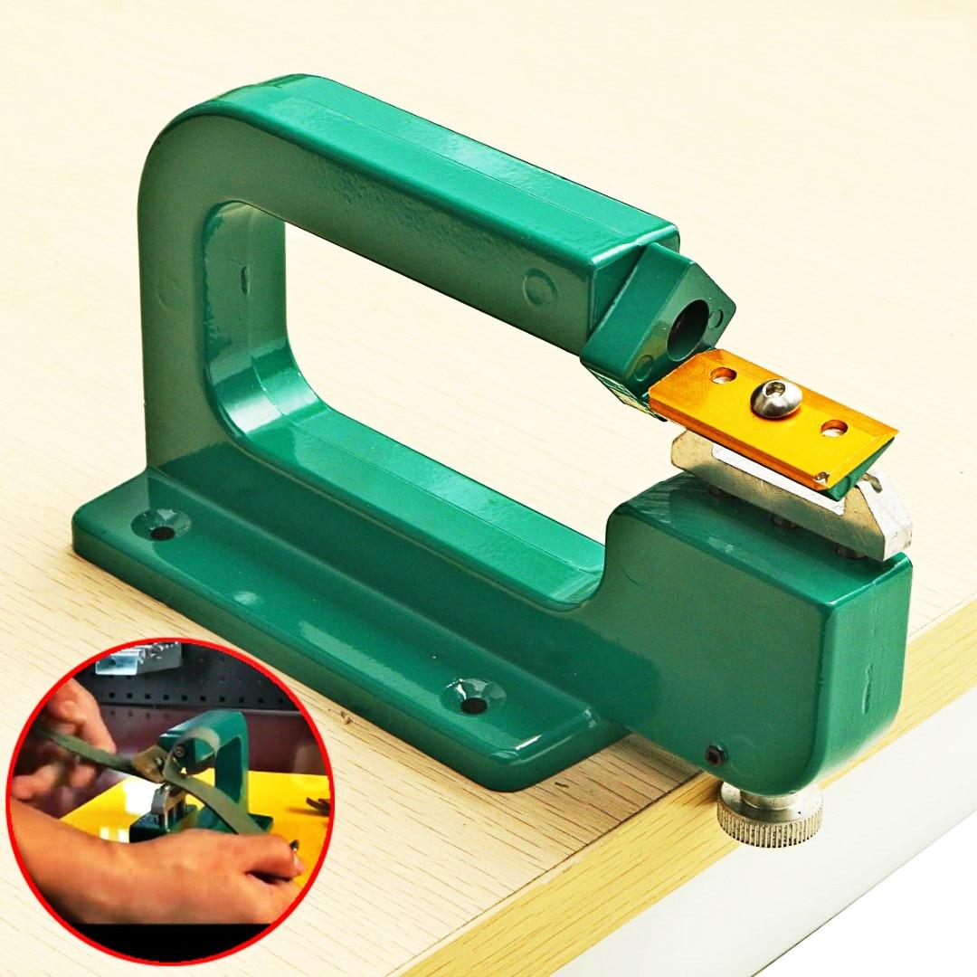 DIY Leather Craft Splitter Skiver Paring Peeling Machine Edge Cut Skiving Shovel