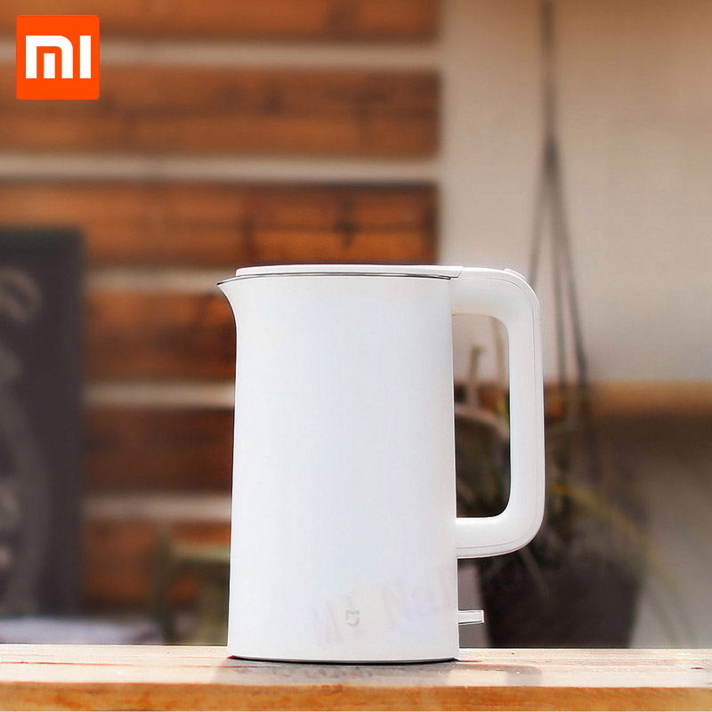 Xiaomi Mijia Electric Kettle 1.5L Household 304 Stainless Steel Insulated Water Kettle Fast Boiling APO Not Smart Model